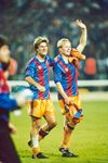 Michael Laudrup & Ronald Koeman Barcelona European Champions 1992 Mounts