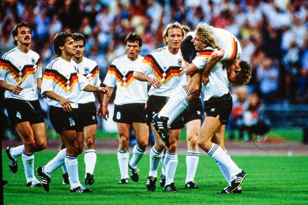 Rudi Voller West Germany v Spain Munich Euro 1988