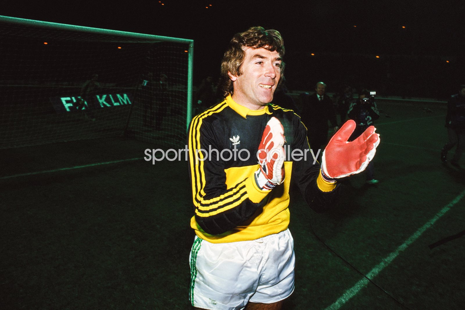 Pat Jennings Northern Ireland v England Wembley 1986