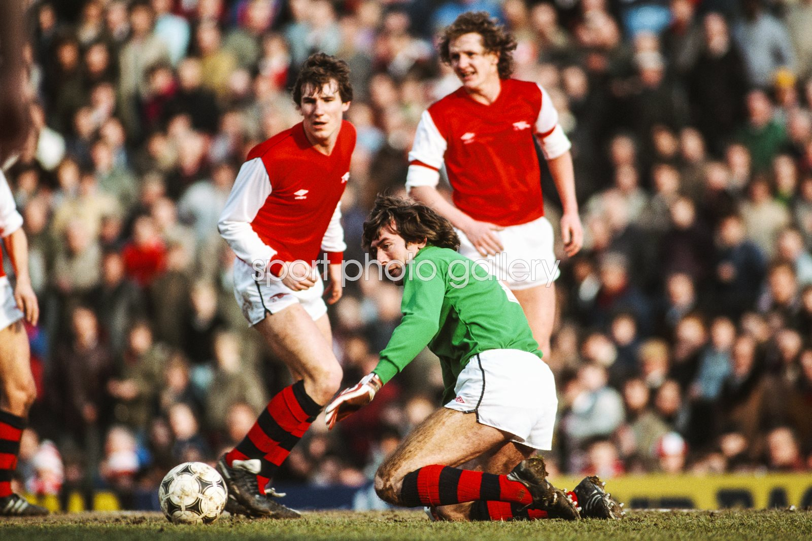 Pat Jennings Arsenal v Luton Highbury 1984