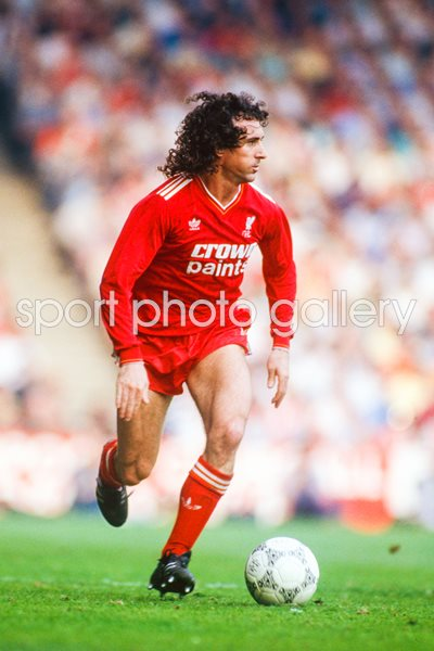 Craig Johnston Liverpool v Everton Anfield 1987