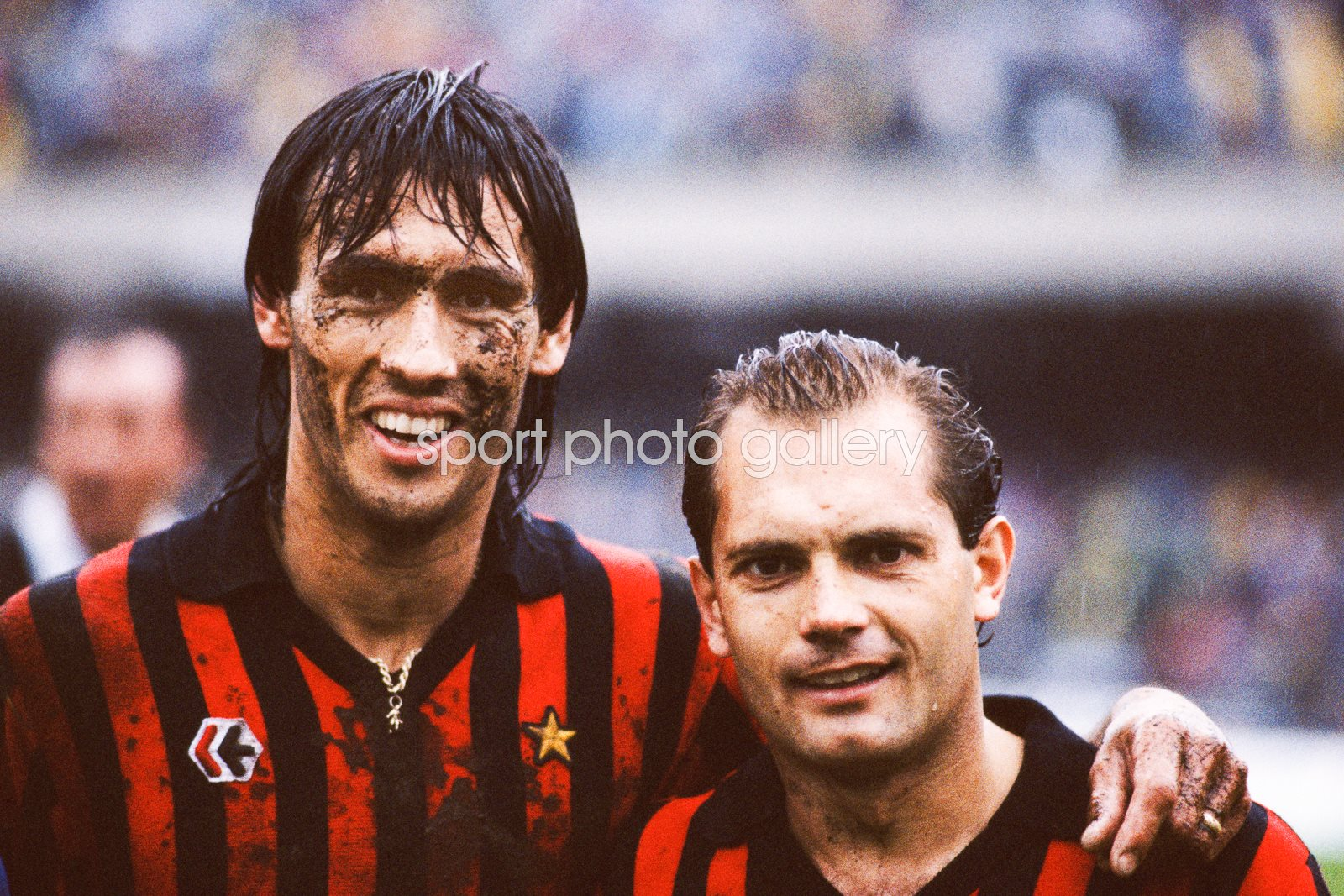 Mark Hateley & Ray Wilkins AC Milan Serie A 1984