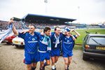Chelsea celebrate Promotion Stamford Bridge 1989 Prints