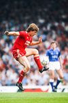 Jan Molby Liverpool v Everton Anfield 1987 Prints