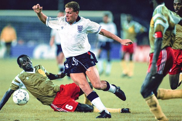 Paul Gascoigne England v Cameroon World Cup 1990