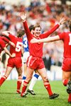 Kenny Dalglish Liverpool 1986 FA Cup Final Winners Canvas