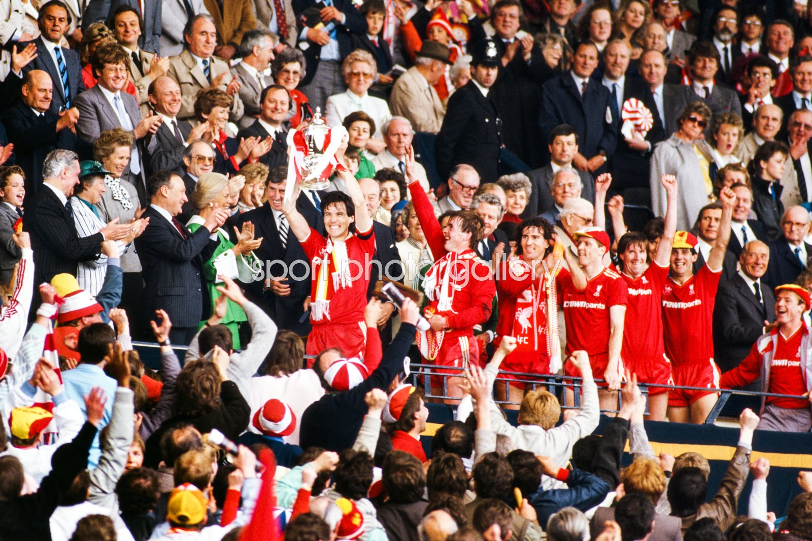 Alan Hansen Liverpool 1986 FA Cup Final Winners