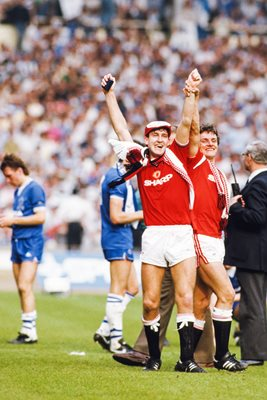 Norman Whiteside Manchester United 1985 FA Cup Final Winners