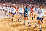 Kevin Ratcliffe Everton v Manchester United FA Cup Final Wembley 1985 Prints