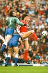 Niall Quinn Arsenal v Everton First Division 1987 Mounts