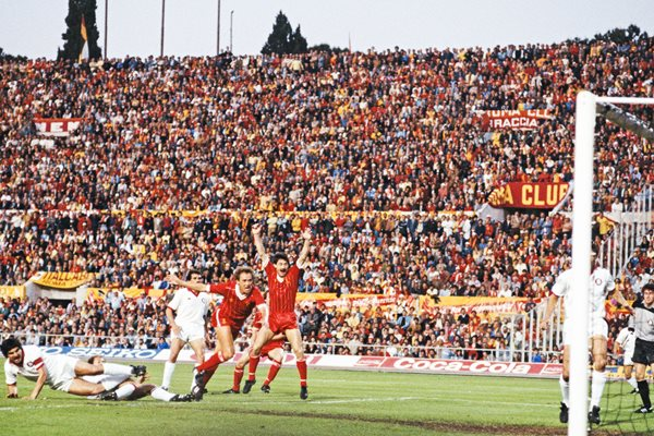 Ian Rush Liverpool v AS Roma 1984 European Cup Final
