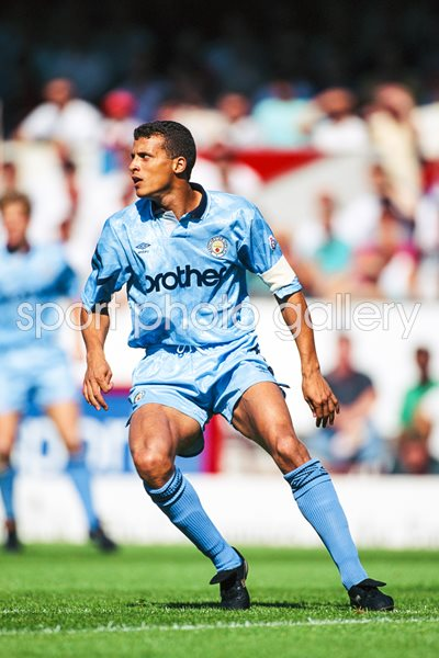 Keith Curle Manchester City v Arsenal Highbury 1991