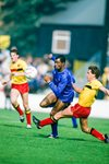 Paul Canoville Chelsea v Wilf Rostron Watford 1985 Prints