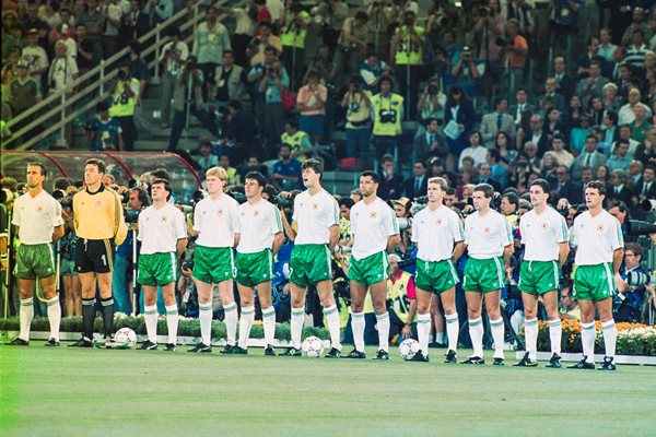 Republic of Ireland v Italy Rome World Cup 1990