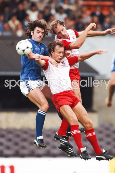 John Wark Ipswich Town v Stoke City League Division One 1983