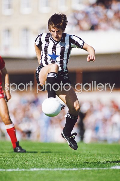 Peter Beardsley Newcastle United v Liverpool 1985