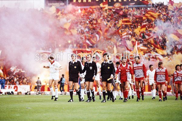 European Cup Final AS Roma v Liverpool 1984