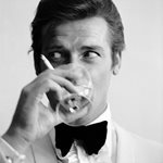 Roger Moore Shaken Not Stirred 1968 Prints