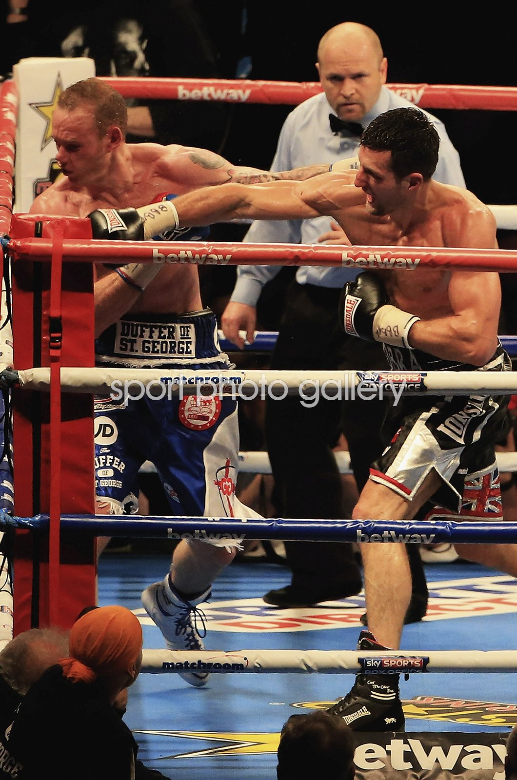 Carl Froch knocks out George Groves 2nd Fight Wembley 2014