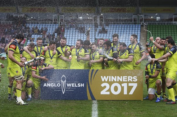 Leicester Tigers Anglo Welsh Cup Winners 2017