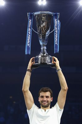 Grigor Dimitrov World Tour Finals Champion London 2017