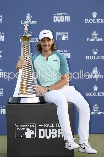 Tommy Fleetwood Europe's #1 Race to Dubai Winner 2017