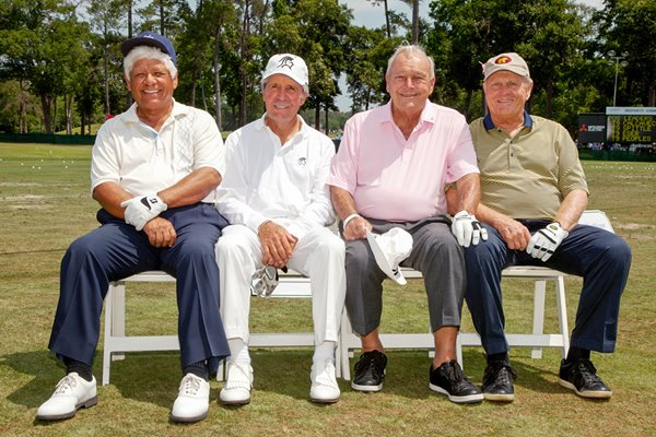 Lee Trevino Gary Player Arnold Palmer & Jack Nicklaus 2012