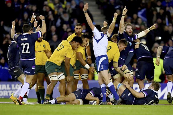 Scotland beat Australia Murrayfield 2017