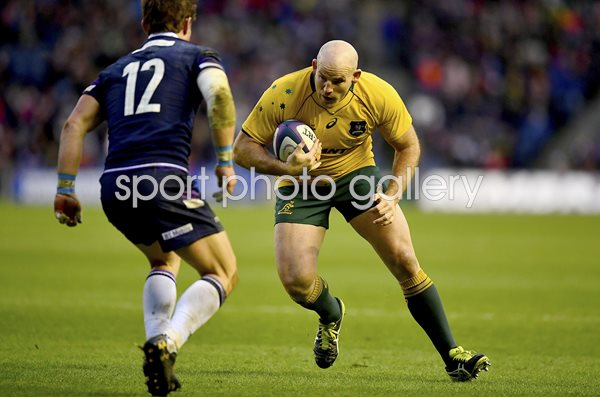 Stephen Moore Australia v Scotland Murrayfield 2017