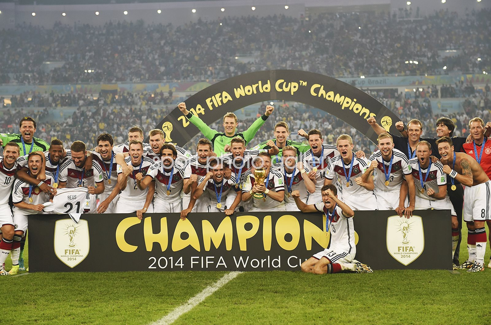 Germany World Cup Champions Brazil 2014