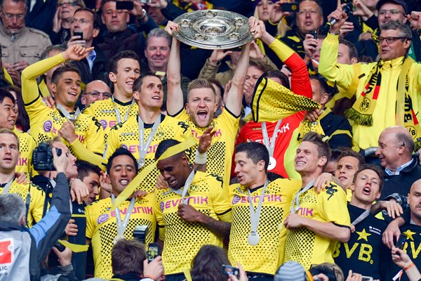 Borussia Dortmund Champions of Germany 2012