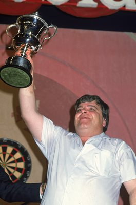 Jocky Wilson Scotland World Darts Champion 1989