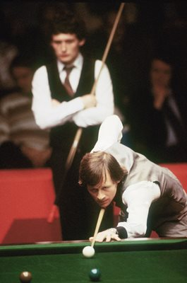 Alex Higgins v Jimmy White World Snooker Crucible Sheffield