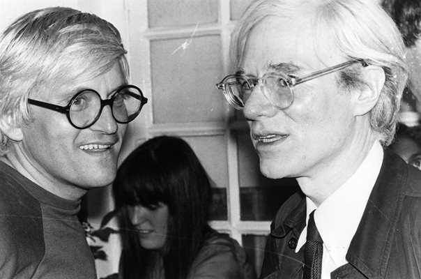 Andy Warhol & David Hockney