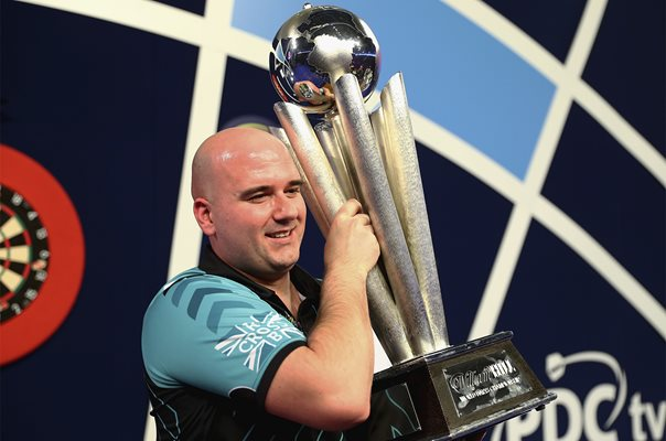 Rob Cross PDC World Darts Champion 2018