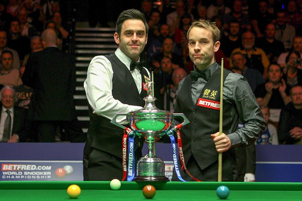 Ronnie O'Sullivan v Ali Carter World Snooker 2012