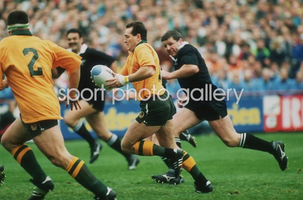 David Campese Australia Rugby World Cup 1991