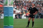 Sean Fitzpatrick New Zealand Rugby World Cup Final 1995 Prints