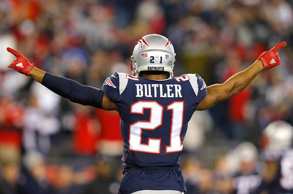 Malcolm Butler New England Patriots AFC Championship 2018
