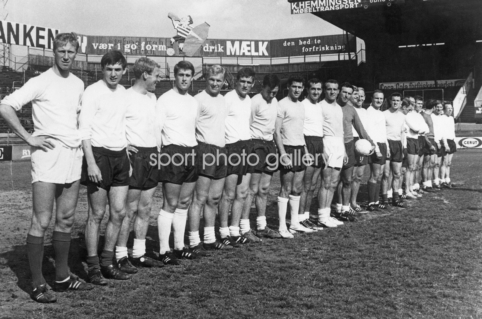 England World Cup Squad Denmark 1966