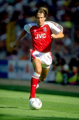 Paul Merson Arsenal v Tottenham Charity Shield Wembley 1991