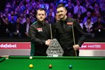 Mark Allen & Kyren Wilson Masters Final Alexandra Palace 2018 Prints