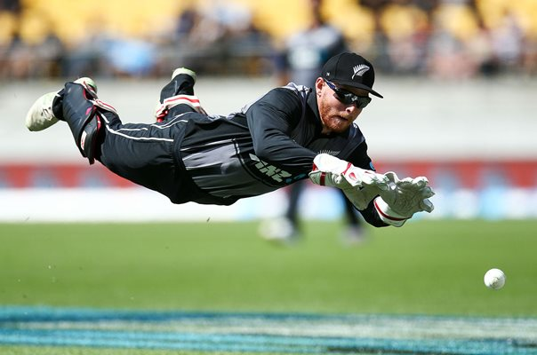 Glenn Phillips New Zealand v Pakistan T20 2018