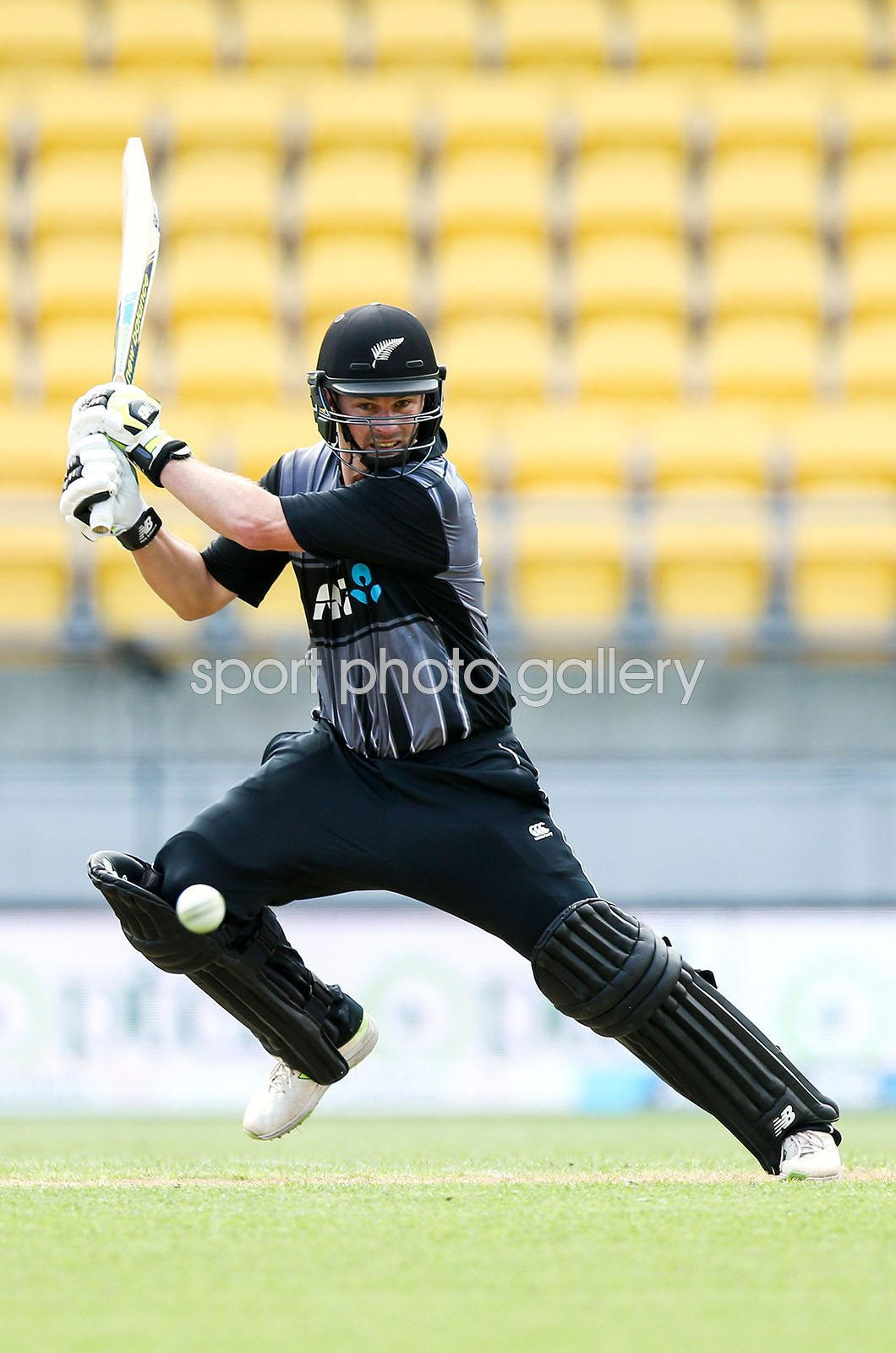 Colin Munro New Zealand v Pakistan T20 Wellington 2018