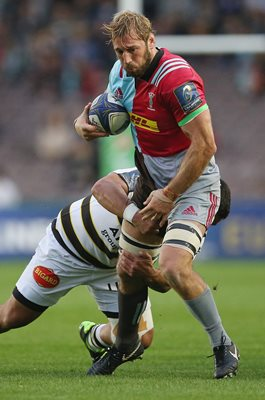 Chris Robshaw Harlequins v La Rochelle Champions Cup 2018
