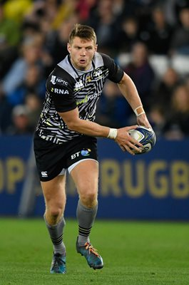 Dan Biggar Ospreys v Clermont Auvergne Champions Cup 2018