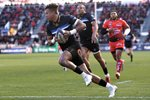 Anthony Watson Bath scores v Toulon Champions Cup 2018 Frames