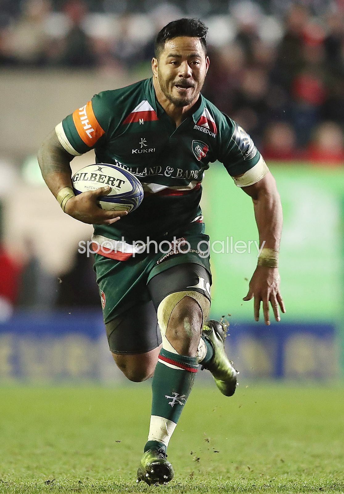 Manu Tuilagi Leicester Tigers v Munster Champions Cup 2018