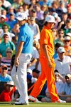 Rickie Fowler & Rory McIlroy Quail Hollow 2012 Prints