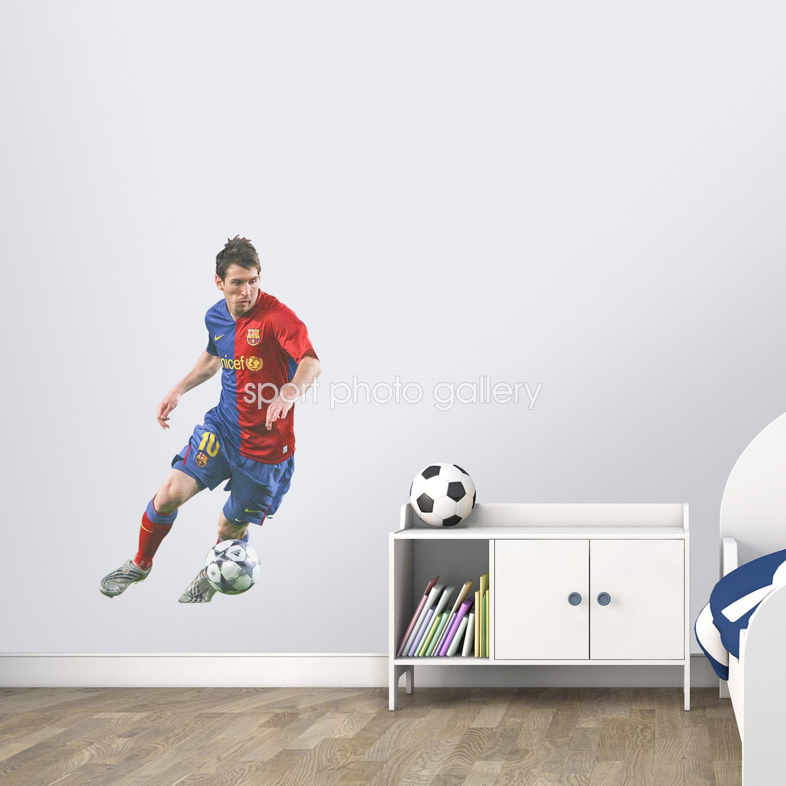 Lionel Messi Barcelona lifesize wall sticker